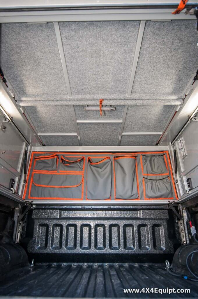 Canopy Camper interior