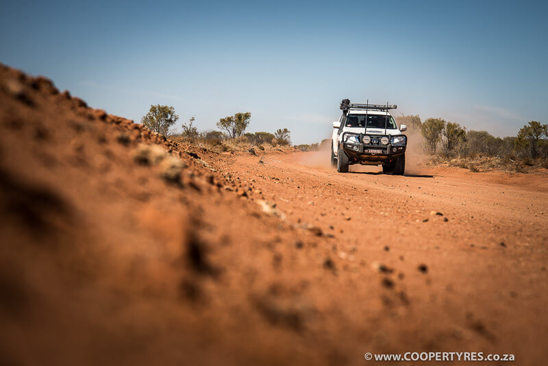 Cooper AT3 in Australia Outback
