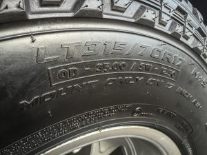 off-road tyre